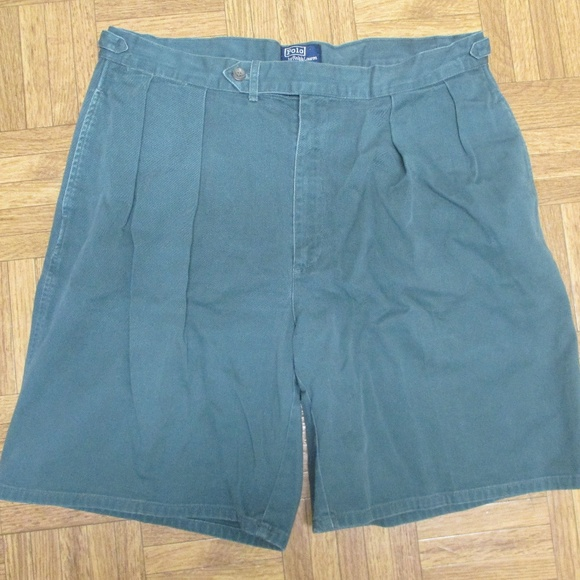 Polo by Ralph Lauren Other - Polo Ralph Lauren Green Shorts Vintage 38 Shield